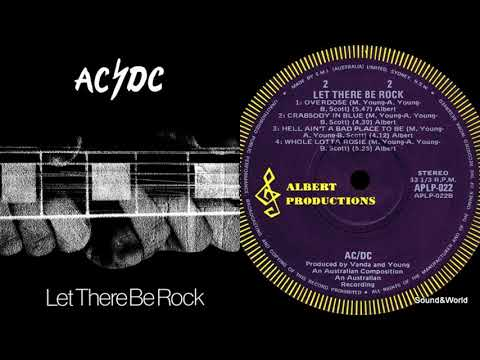 AC/DC  -  Let There Be Rock (Vinyl, LP, Album) Australia 1977.