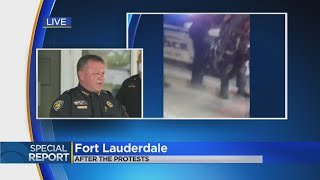 Special Report: Fort Lauderdale Officials On George Floyd Protests on Sunday