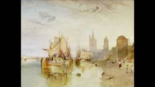 "Joseph Mallord William Turner, ""The Harbor of Dieppe"""