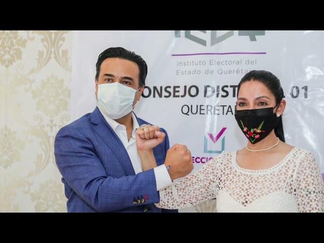 Secuencia videográfica. Registro de Luis Nava por Querétaro Independiente