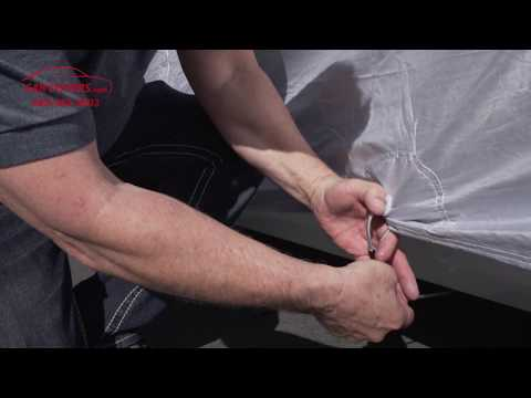 CarCovers.com - How To Install Cable and Lock Set - Secure Your Cover Onto Vehicle