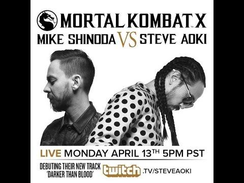 Mike shinoda VS Steve Aoki in Mortal Kombat X