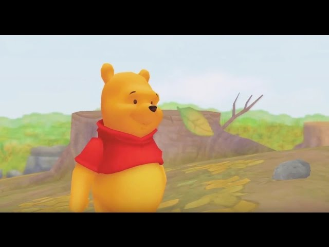 Winnie The Pooh Kingdom Hearts Movie - Video Game