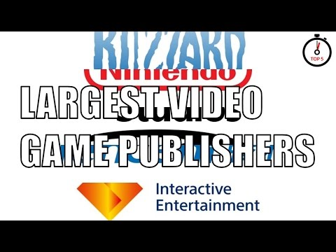 Top 5 largest video game publishers
