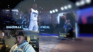 I PULLED DIAMOND SHAQ! NBA 2K19 MyTeam Throwback Thursday Pack Opening!