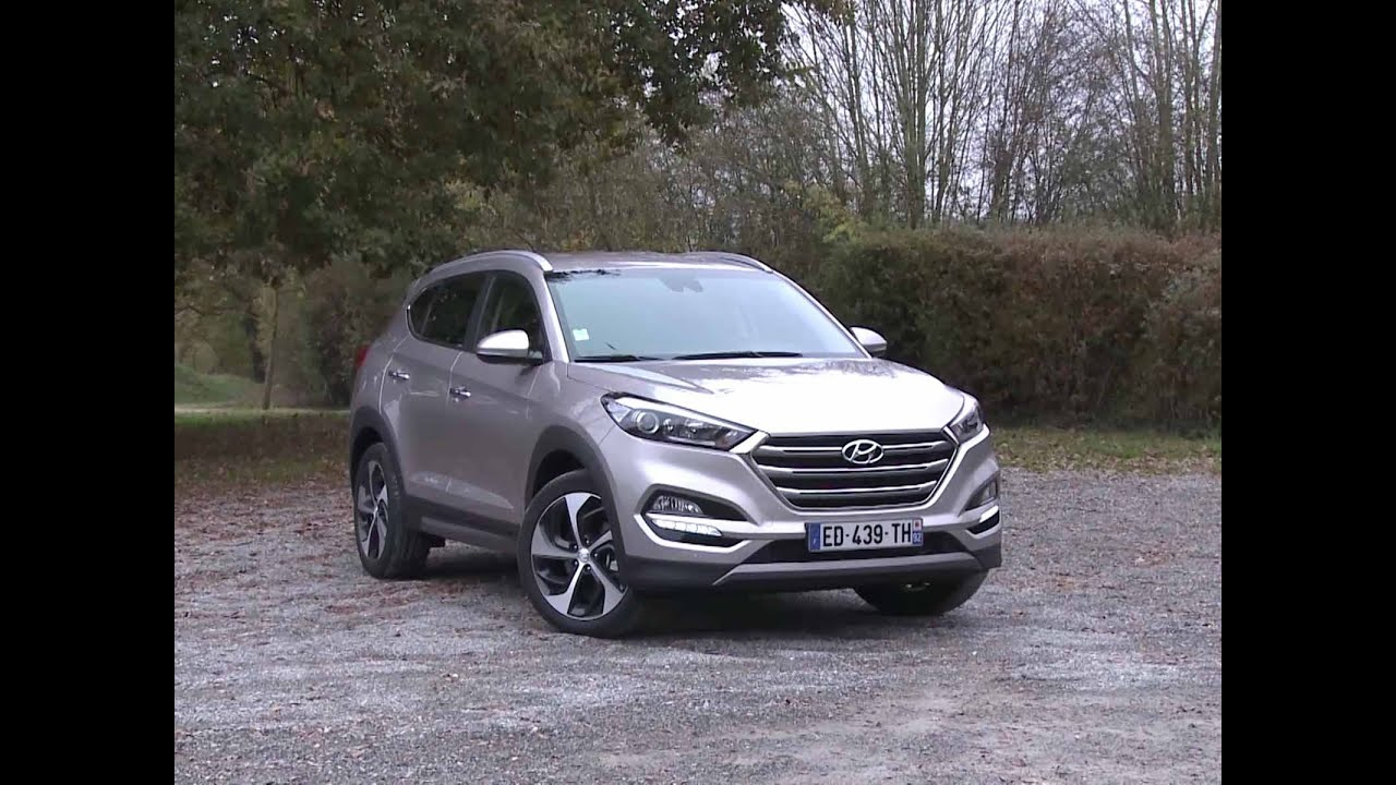 essai hyundai tucson 1 7 crdi 115 s edition 2016 youtube. Black Bedroom Furniture Sets. Home Design Ideas
