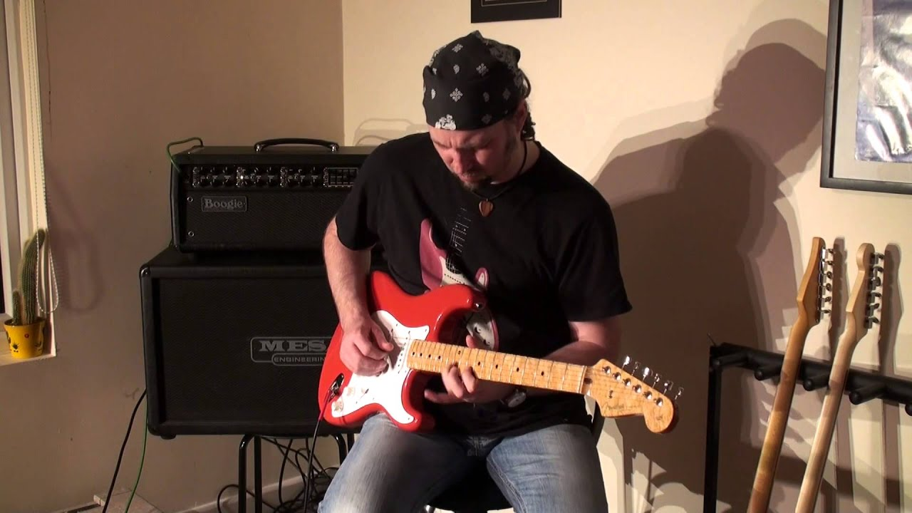 2001 fender custom shop 56 stratocaster mesa boogie mark v youtube