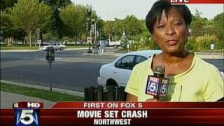 Autobot Bumblebee Hits DC Police SUV at Transformers Filming in D.C. Fox 5 News WTTG-TV