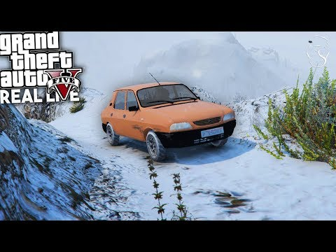 Download Youtube: GTA: Real Life | Dacia 1310 pe Chiliad Iarna!
