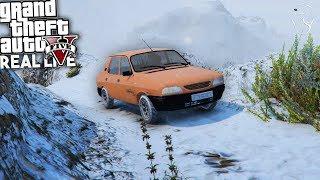 connectYoutube - GTA: Real Life | Dacia 1310 pe Chiliad Iarna!
