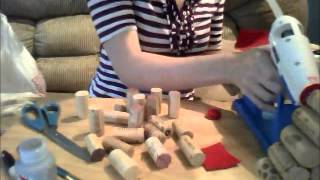 Diy: Wine Cork Trees