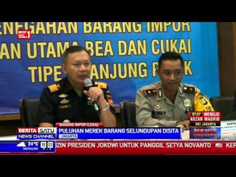 Bea Cukai Tanjung Priok Sita Barang-barang Selundupan