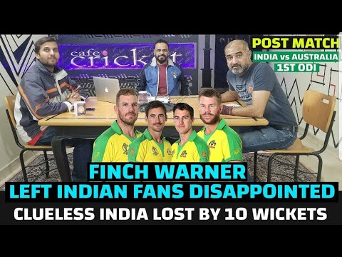 What Went Wrong India Lost By 10 Wickets. 1st ODI IndvAus