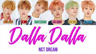 how would NCT DREAM sing DALLA DALLA by ITZY?