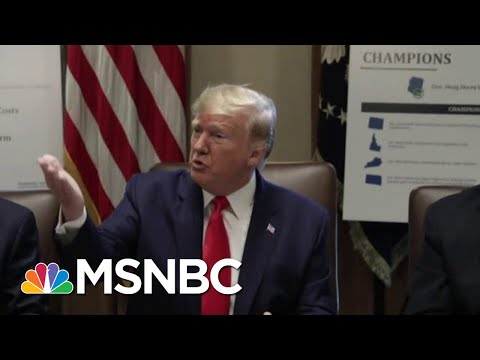 President Donald Trump Compares Impeachment Probe To 'A Lynching' | Velshi & Ruhle | MSNBC