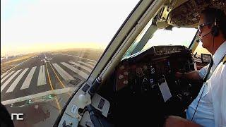 Ciudad de México a Nueva York (Nevando) - AeroMexico - Boeing 767-200 Cabina de Pilotos
