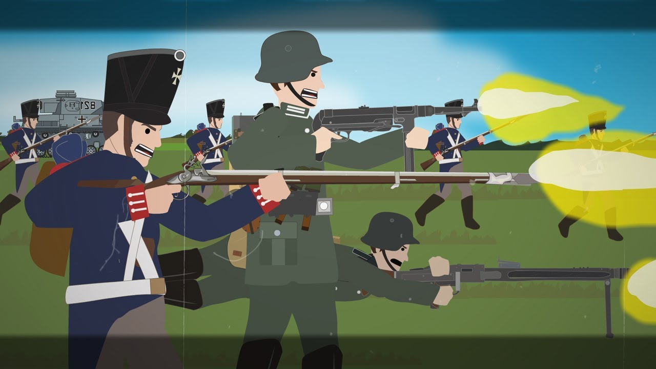 Why did the Nazi's swap their  Mausers for Muskets in WWII?