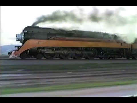 SP 4449 Chase 3-8-1986 on it's way to