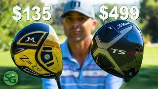 Cheap Mazel Driver vs Expensive Titleist TS3! Is it Worth it to Spend the Money?