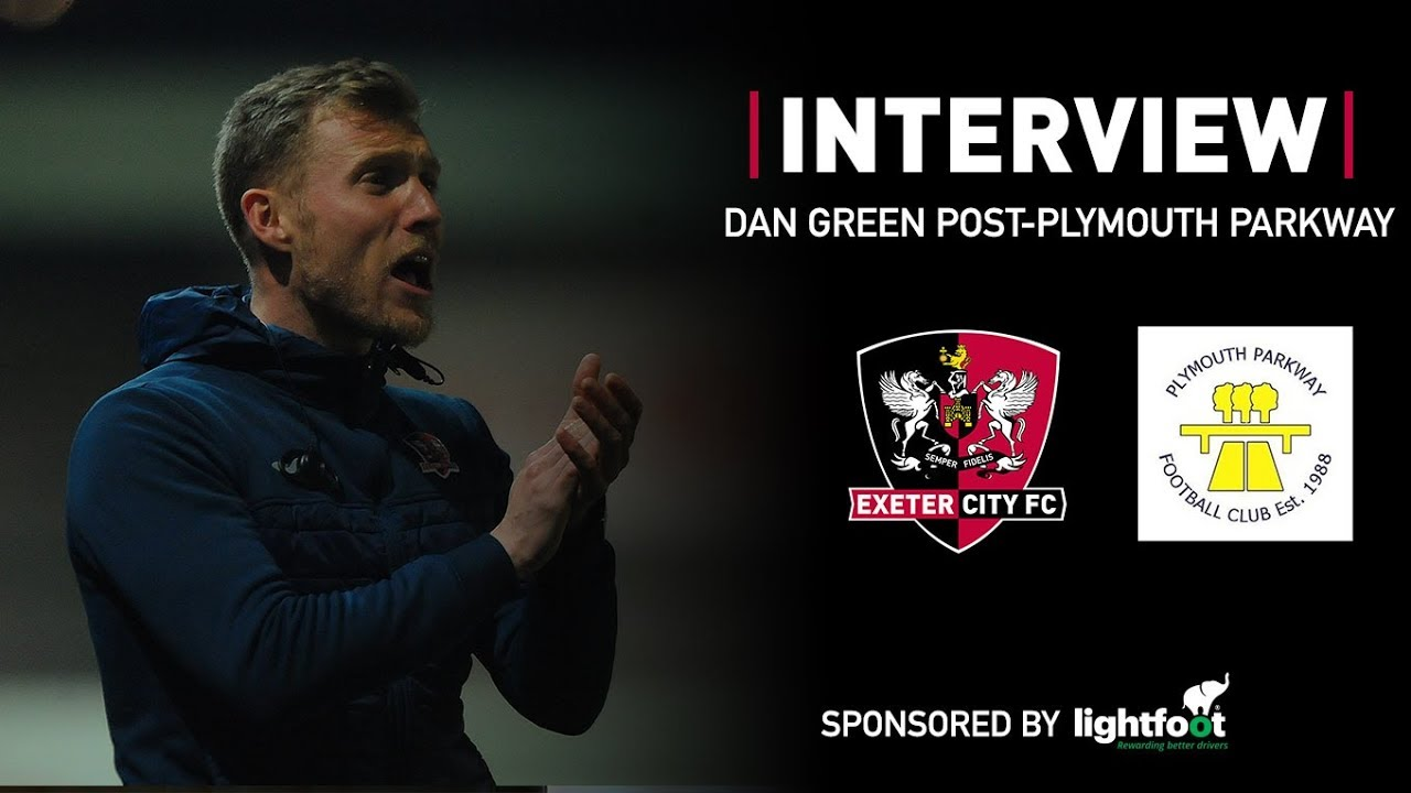 ???? Dan Green post-City 2 Plymouth Parkway 1 | Exeter City Football Club