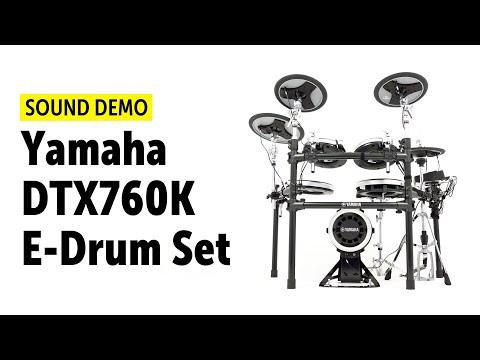 Yamaha DTX760K E-Drum Set Sound Demo