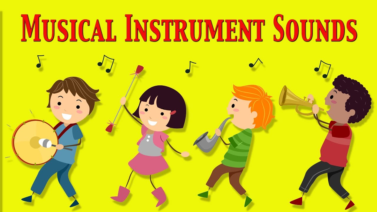 musical instruments sounds for kids ☆ part 1 ☆ learn - school
