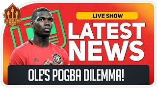 Solskjaer's Pogba Decision! Bruno Fernandes Offer? Man Utd News Now