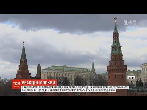 Реакція Москви щодо