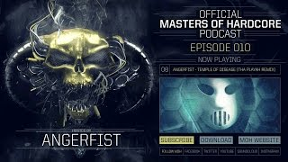 Video Official Masters of Hardcore Podcast 010 by Angerfist download MP3, 3GP, MP4, WEBM, AVI, FLV November 2017