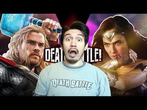 Thor vs Wonder Woman | DEATH BATTLE REACTION!!!