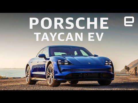 Porsche Taycan EV hands-on: the EV Sportscar we've been waiting for