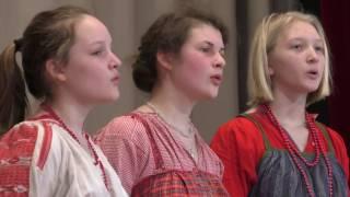 Детский фольклорный ансамбль ''Кладец'' - Тошно жить на чужой стороне @ Библиотека ин. лит. 09.04.2017