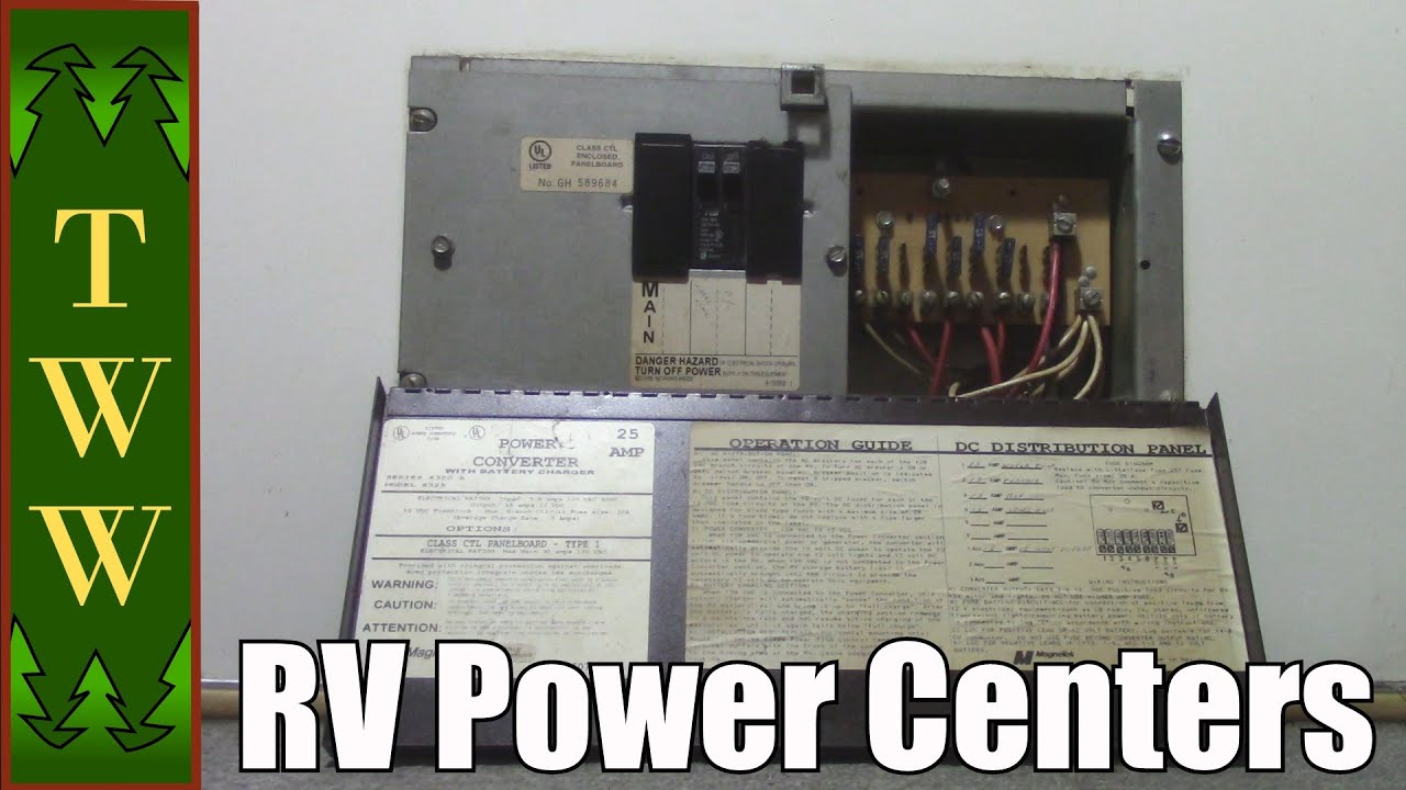 hight resolution of rv power centers and upgrade options for the magnetek 6300