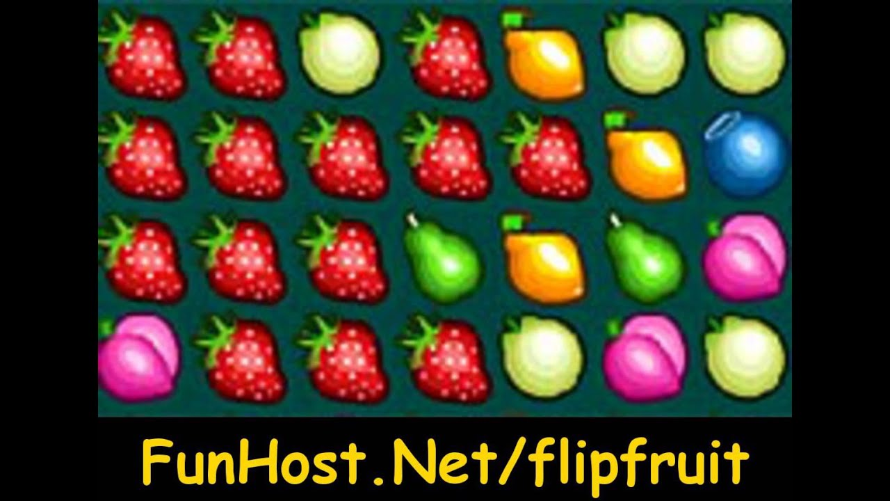 Juego De Frutas Gratis