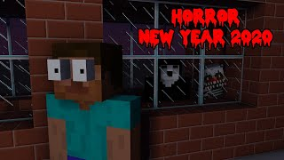 Monster School HAPPY NEW YEAR 2020 BUT HORROR Minecraft Animation