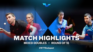 Kirill Skachkov/Olga Vorobeva vs Niagol Stoyanov/Giorgia P. | WTT Contender Budapest 2021 (R16)