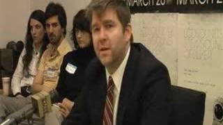 "LCD Soundsystem - ""Backlash"" Press Conference (Part 4 of 6)"