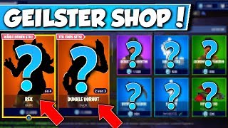 ❌DINOSAURIER SKINS ARE DA!! 😱 - NEW OBJECT SHOP in FORTNITE is DA!!