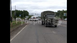 Автолюбительница пострадала в спорном ДТП с военным ЗИЛом в Хабаровске. Mestoprotv