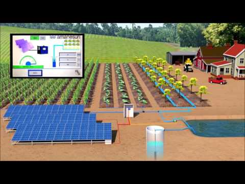 Solar Pump Inverter MPPT - AMANESUN ENERGY By PHOTONSOLAR BEY (pompage, irrigation solaire)