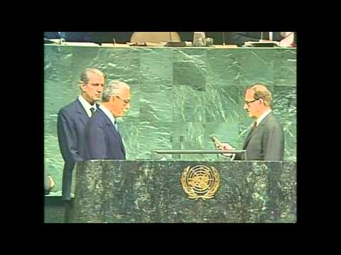 Boutros Boutros-Ghali (Egypt) is appointed as the sixth Secretary-General of the United Nations