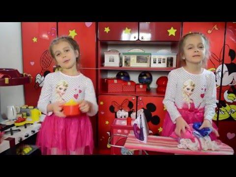 Детская игра кухня ! Детский канал Расти вместе с нами.