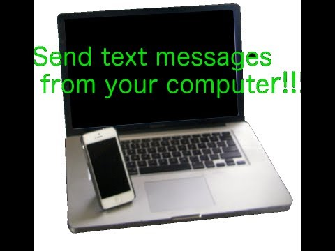 Send a text message to any phone from E-mail