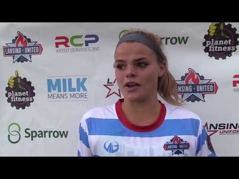 Lansing United Women 21 Michigan Legends  Postgame Reaction
