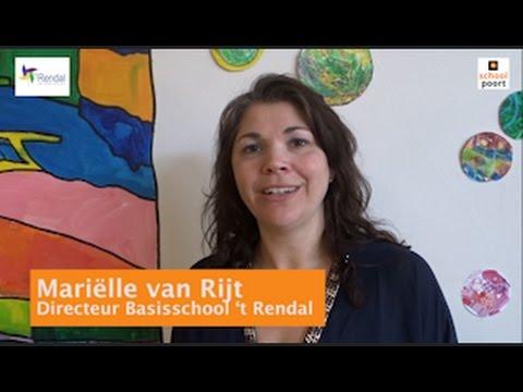 Mariëlle van Rijt van basisschool 't Rendal