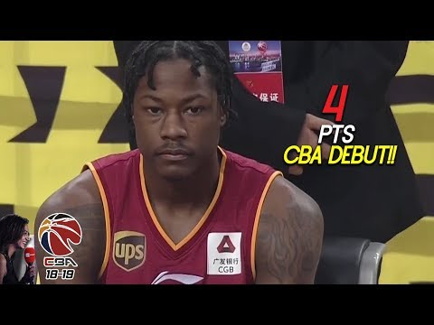 Archie Goodwin CBA Debut 4 Pts Full Highlights Vs 八一 (14.12.18) Uh-Oh! [1080p]