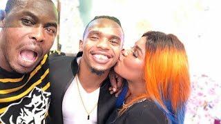 Huyu ndiye girlfriend mpya wa Dogo Janja, amkumbatia na kutumbuiza naye pamoja na mama yake