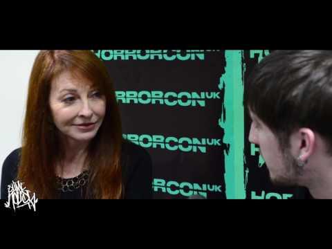 Elvira AKA Cassandra Peterson Exclusive   Slime House TV @ HorrorCon UK