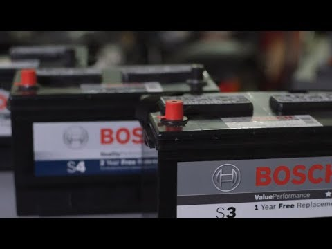 Bosch Auto Parts Removing Installing Car Battery Youtube