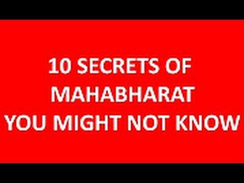 Mahabharat   10 Hidden facts